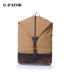(52.00$)  Watch more here - http://aidz6.worlditems.win/all/product.php?id=32791324408 - Top Quality Canvas Men Backpacks Youth College Student Bookbags School Bag for Teenagers Vintage Rucksack Travel Male Backpack