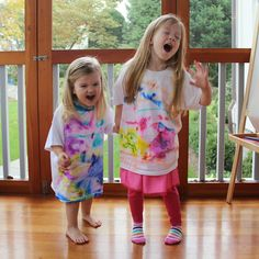 Rachael Rabbit: Tie Dye Sharpie T-shirt