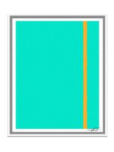 Turquoise Color Blocks - Gilt Home