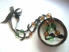 Bead necklace   #lifeinstyle #greenwithenvy