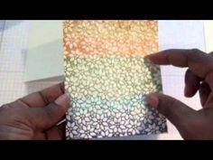 Rainbow Distress Inking - YouTube