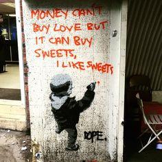 The work of DOPE in the UK #streetart #streetartnews