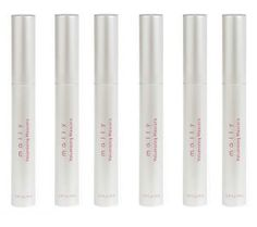 Create gorgeous, full, luxurious lashes with Mally's Supersize Set of 6 Volumizing Mascaras