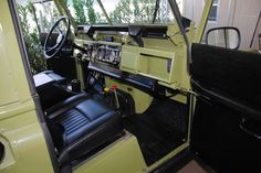 1971 series 2A interior