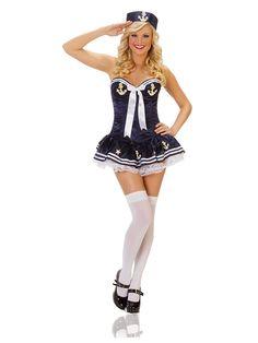 Sexy Navy Paris Sailor Costume - Sexy Military Costumes