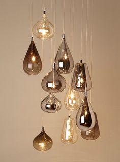 Smoke Nadine Cluster - Ceiling Lights - Home, Lighting & Furniture