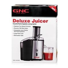 Deluxe Juicer Powerful Fruit  Vegetable Juicing System -- You can find more details by visiting the image link.