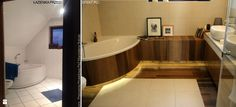 Metamorfoza łazienki z wanną narożną - zdjęcie od Magdalena Sobula Pracownia Projektowa Pe2 - Łazienka - Styl Klasyczny -  Magdalena Sobula Pracownia Projektowa Pe2