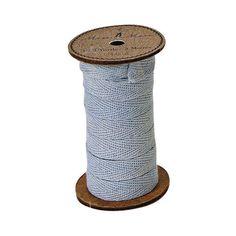 Meri Meri Alphabet Bunting - Ribbon Spool Blue -  Bunting - Meri Meri UK - Putti Fine Furnishings Toronto Canada - 1