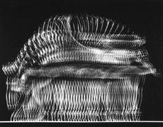 Stroboscopic image of ballerina Nora Kaye doing a pas de bourree, 1947 by Gjon Mili from LIFE #experimentsinmotion #motion #dance