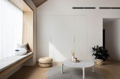 On the east end of Victoria's surf coast at the gateway of the Great Ocean Road sits Project Felix by Leÿer, a beautiful modern timber cabin. Plywood Furniture, Timber Cabin, Timber Cladding, Folding Doors, Living Room Sofa, Ramen, Home And Family, Interior Design, Design Design