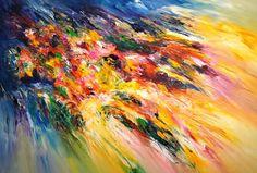 "Saatchi Art Artist Peter Nottrott; Painting, ""Energetic Fields XL 1"" #art"