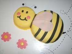 Bumblebee Cake! I think my favorite so far!