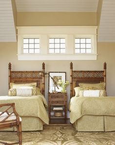 British Colonial guest room