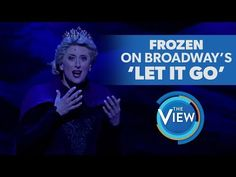 Frozen The Broadway Musical's Caissie Levy Performs 'Let It Go' Frozen On Broadway, Frozen Musical, Frozen Songs, Frozen Movie, Elsa Frozen, Movie Songs, Movie Tv, Frozen Let It Go, Broadway News