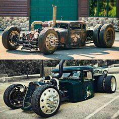 rat rod trucks and cars Rat Rod Cars, Hot Rod Trucks, Cool Trucks, Cool Cars, Semi Trucks, Weird Cars, Pedal Cars, Custom Rat Rods, Custom Trucks