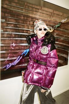 Moncler 8 Palm Angels Fall 2019 Ready-to-Wear Fashion Show - Vogue Moncler, Vogue Paris, Fall Winter, Autumn, David Koma, Palm Angels, Mode Vintage, Fashion Show Collection, Spring Summer 2018