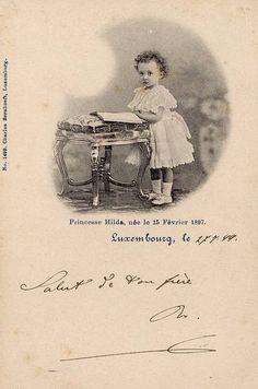 Prinzessin Hilda von Luxemburg, Princess of Luxemburg