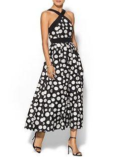 Jill Jill Stuart Midi Polkadot Dress | Piperlime