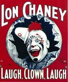 Laugh Clown Laugh is a 1928 silent film starring Lon Chaney and Loretta Young The film was directed by Herbert Brenon and produced by MGM Studios It. Old Circus, Circus Clown, Circus Art, Dark Circus, Circus Tents, Halloween Circus, Halloween Makeup, Halloween Party, Loretta Young