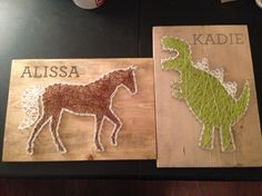 How To Make String Art - An easy method to get consistent results and avoid wood splitting!
