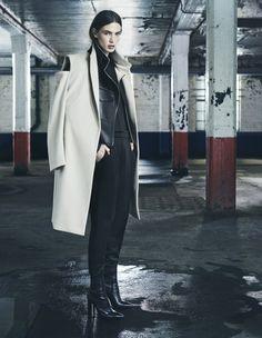 AllSaints AW14 | Womenswear Look 1