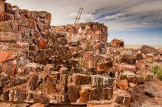 Agate House, Petrified Forest NP, AZ   by taschroeder Petrified Forest National Park, Nikon D7000, Agate, Arizona, National Parks, Places, House, Travel, Viajes