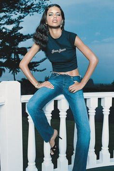 Adriana Lima: The Victoria's Secret Angel became a Guess Girl in 2000, appearing in that year's fall ad campaign and the book A Second Decade of Guess Images