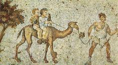 mosaico pavimentale di un gran cortile porticato del palazzo imperiale di Costantinopoli. VI secolo