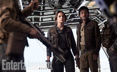 In the era of fandom 'shipping, it's only a matter of time before people start drawing hearts around Jyn and Cassian. The filmmakers say he's the reliable, stable one who counters her loose-cannon tendencies, sort of Murtaugh to her Riggs. (There's probably a fandom out there who 'ship the two Lethal Weapon characters, too.) No doubt Jyn and Cassian form a trust and a friendship, but does that always have to mean romance? Is there perhaps value in showing a man and woman whose partnership is…