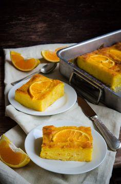 Portokalopita-placinta cu portocale - Din secretele bucătăriei chinezești Cornbread, French Toast, Sweets, Breakfast, Ethnic Recipes, Cakes, Food, Greek Sweets, Recipes