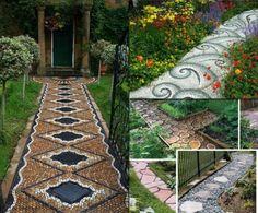 Caminos en el jardín - Ideas para jardines y decoración