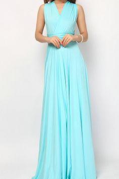 Aqua blue Bridesmaid Dress Infinity Dress Convertible Dresses [lg-19] - $73.80 : Infinity Dress   Convertible Dress Bridesmaid Dresses Online, TinnaInfinityDress