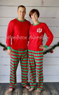 preorder unisex adult christmas pajamas by appliqueadorable adult christmas pajamas christmas