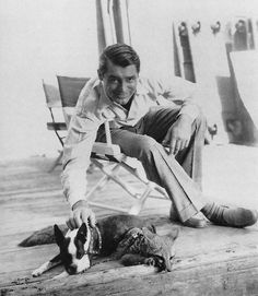 Cary Grant being all adorable and whatnot.