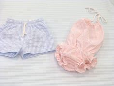 Matching boys and girls puka_tuka@hotmail.com baby swimsuit and shorts