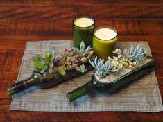 ideas para decorar con plantas - suculentas