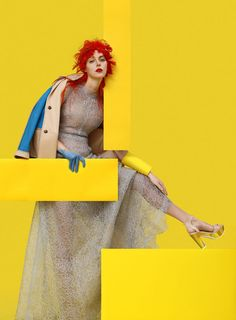 Quirkily Colorful Editorial Backdrops : Harayer Magazine by Cosimo Buccolieri