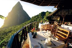 St. Lucia - Ladera resort - where we went on our honeymoon - I want to go back!!