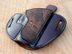 Handmade Custom Leather Glock Holster from Tin by TinBadgeLeather, $100.00