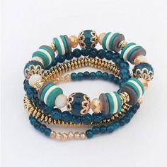 Item specifics Brand Name:WCL Item Type:Bracelets Fine or Fashion:Fashion Material:Acrylic Shape\pattern:Round Clasp Type:Toggle-clasps Setting Type:Bezel Setti