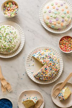 pretty decorating ideas for party cakes
