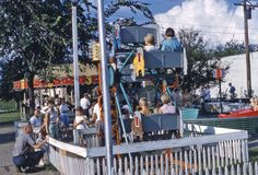 I bet you didn't know that Sioux Falls once has a tiny ferris wheel? Joyland Park operated in the 1950s and 60s by 33rd and Duluth Ave. Check out GreetingsfromSiouxFalls.com for more pictures.