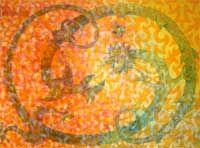 Title: Dancing Demons 90 x 120 cm mixed media on mdf. Demons, Dancing, Mixed Media, Language, Art, Art Background, Dance, Demons 2, Kunst