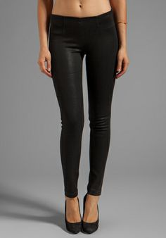 Emily loves her coated jeans!