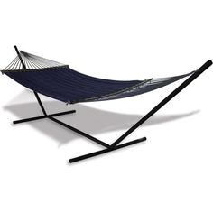 Double Hammock Stand Tropical Outdoor Furniture Adjustable Durable Heavy Duty
