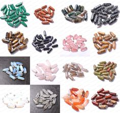 Wholesale Natural Gemstones Hexagonal Pointed Reiki Chakra Pendant Beads Necklac #Unbranded #Pendants