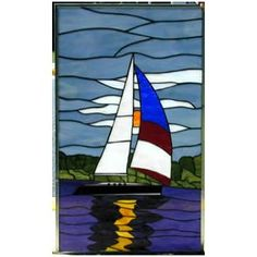 stained glass sailboat - Google Search
