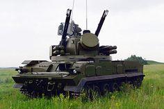 2K22M1 Tunguska (NATO reporting name: SA-19 Grison)