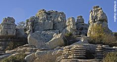 The extraordinary limestone rock formations of El Torcal, Antequera - photo by Michelle Chaplow